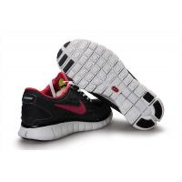 Quality Nike Free Run Women Black Red for sale