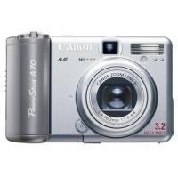 Quality Canon PowerShot A70 Digital Camera Silver 8400A001AA for sale