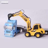 Buy cheap 1:32 RC Tow truck with construction truck PRE-0232 from wholesalers