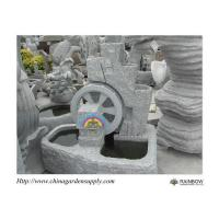 Quality Water Garden Granite Wheel Water Feature for sale