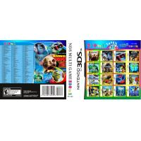 China WholeSale 3Pieces/Lot, 230-in-1 Super Game Card 32GB Multi Games Card for Nintendo DS on sale
