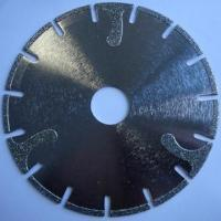 Buy cheap Electroplated R-segmented saw blade from Wholesalers
