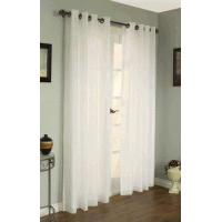 China Rhapsody Lined Thermal Voile Sheer Curtain With Curtain Grommets on sale