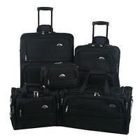 Quality Samsonite Outpost 5 Piece Nested Luggage Set for sale