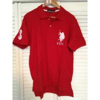 Quality US Polo Assn. Large Pony Polo Shirt - Red for sale