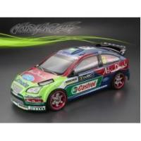 Buy cheap 1/10 Ford Focus 190mm RC Car Transparent Body from wholesalers
