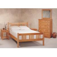 Quality Beds and Bedding Pacific Rim Maple Arts & Crafts Platform Bed for sale
