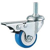 Quality 02-Grey PVC/Rubber caster for sale