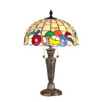 Quality Tiffany Table Lamps Billiards Table Lamp - 25H for sale