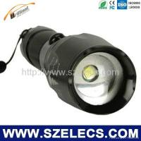 China AAA battery Flashlight for outdoor safety working Lamp Cree LED on sale