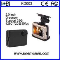 China Car DVR Factory Price 720P HD Car Driving Video Recorder KD003 on sale