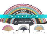 Quality Artificial Crafts(970) Special wooden hand fan of many colors for sale