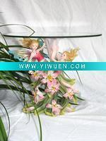 Quality Artificial Crafts(970) Angel Series Tea Table Resin Crafts for sale