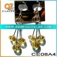 Quality 2011 Handmade Crystal Bead Earrings for sale
