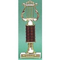 """Quality 10"""" Lyre Trophy for sale"""