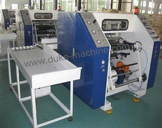 Buy Full Automatic Stretch Film Rewinding Machine at wholesale prices