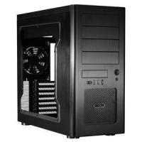 Quality Lian Li PC-8NWX Black Aluminium Midi Chassis & Window for sale