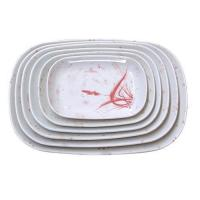 China Rectangular plate on sale