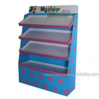Buy cheap fashion clothes cardboard display rack POS cardboard display stand from wholesalers