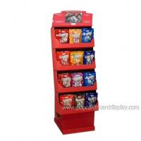 Buy cheap snack and chocolate retail supermarket cardboard display rack from wholesalers
