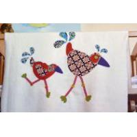 The `Crazy Chickens` Blanket