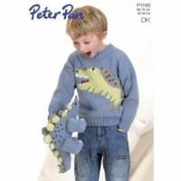 China Cute kids jumper & toy knitting pattern for DK yarn P1146 on sale