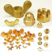 Brass hex nuts, Brass wing nuts, Brass cap nuts, Brass slotted nuts, Brass nuts