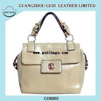 Quality Beige Popular Leather Bags 2014 for sale