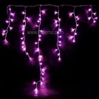 Quality LED Icicle Light-Pink for sale