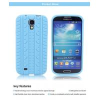 Tire pattern silicone gel soft case cover skin for Samsung Galaxy S4