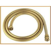 Quality 1.5m special double lock shower hose with titanium for sale