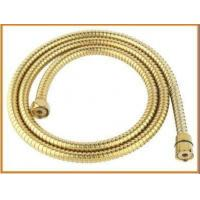 Quality Bathroom flexible gold shower hose for sale