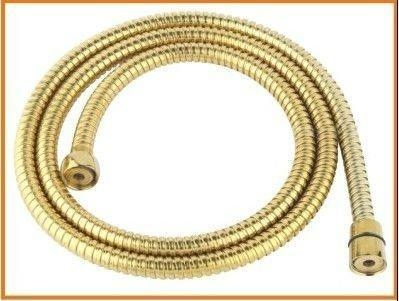 Buy Bathroom flexible gold shower hose at wholesale prices