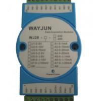 Quality Analog I/O Modules 8-CH Analog Signal to RS485/232 Module with Modbus for sale