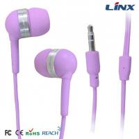 Quality Small In-ear earphone with bright color for mobile phone for sale