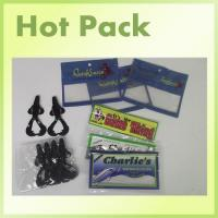 Buy cheap fishing bait packaging bag with clear window from wholesalers