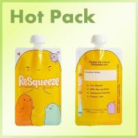 Buy cheap Baby food squeeze pouches for fruit puree packaging from wholesalers
