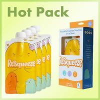 Buy cheap organic reusable baby food packaging pouch from wholesalers