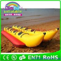 Inflatable banana boat for sale inflatable double tube banana boat inflatable water boat