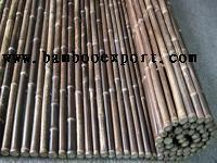 Quality Black Bamboo Fence for sale