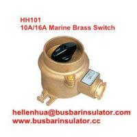 Buy cheap 10A/16A marine switch copper brass HH101 1133 electrical switch IP56 from wholesalers