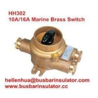 Buy cheap 10A/16A marine copper brass HH302 1133/3 connectors Water Resistant switch IP56 from wholesalers