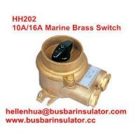Buy cheap 10A/16A marine copper brass HH202 1133/2 electrical connectors switch IP56 from wholesalers