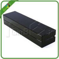 Quality Packaging Boxes Black Matte Hair Extension Packaging Boxes for Sale for sale