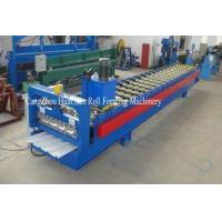 Buy cheap Trapezoid Cold Roll Forming Machine With Manual / Hydraulic Uncoiler from wholesalers
