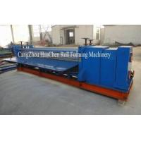 Buy cheap 0 - 4m Width Thin Board Cold Roll Forming Machine for Corrugated Panel from wholesalers