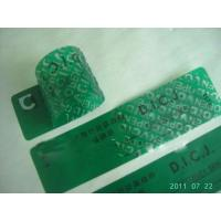 Quality 36# Green Non Transfer Tamper Evident Material--3MN0304 for sale