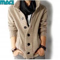 Quality Men Men winter heavy sweater chunky knit cardigan for sale