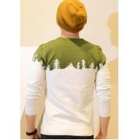Quality Men Christmas tree sweater men jacquard pullover for sale