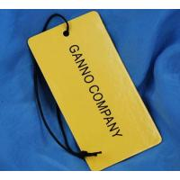 Buy cheap Cardboard paper hang tag from wholesalers